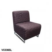 Single sled bloc lounge