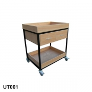 Trolley with drawers
