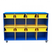 Mobile storage, Blue with Yellow insert