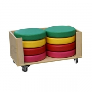 Cushion Cabinet, Stacked