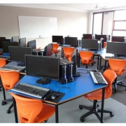 Gas lift student chairs in an I.T environment