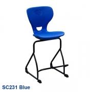 Student stool, Blue