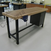 Teachers demonstration bench
